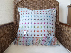 Wool Cushions With Feathered Inner - cushions