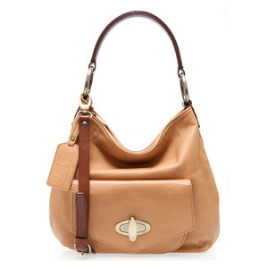 Georgia Caramel Tan Leather Handbag - bags & purses