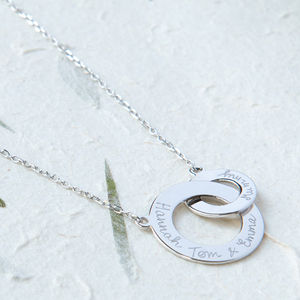 Personalised Intertwined Necklace - last-minute christmas gifts for her