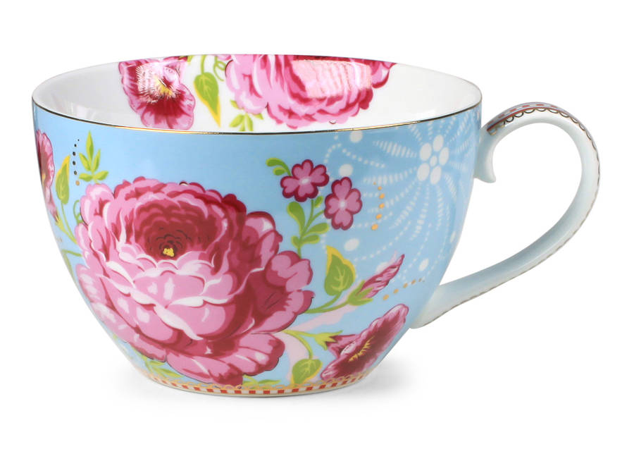 Giant Tea Cup Large Flower By Pip Studio By Fifty One