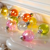 Coloured Ball Festival Lights - christmas decorations