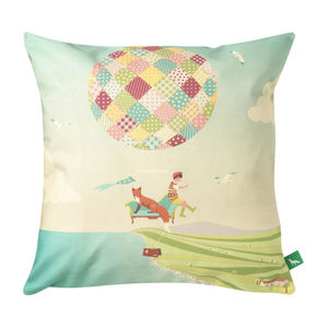 The Persistence Of Volition Cushion Cover - patterned cushions