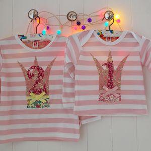 Personalised Birthday Princess Age T Shirt - personalised birthday gifts