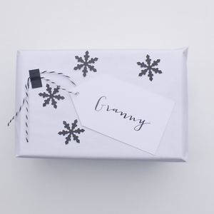 Personalised Name Gift Tag - gift tags & labels