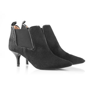 Kitten Heel Chelsea Boots - shoes