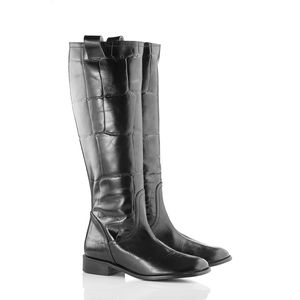 Knee High Riding Boots - boots