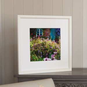 Summer Garden, Framed Print - contemporary art