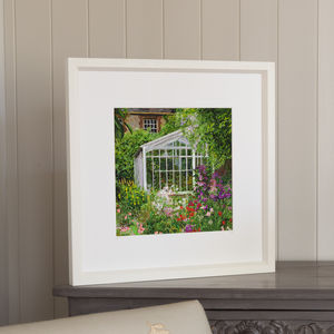 Station House Garden, Framed Print - posters & prints