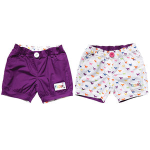 Children's Reversible Shorts