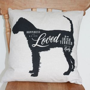 Dog Lovers Personalised Cushion - cushions