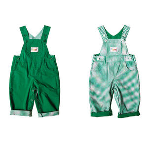 Children's Reversible Dungarees - trousers & leggings