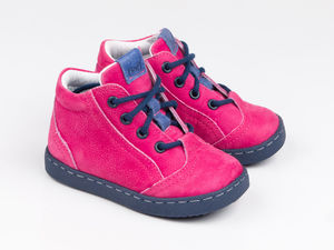 Girl's Leather Trainers - shoes & footwear