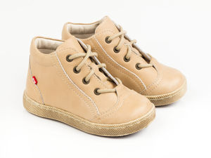 Boy's Leather Trainers - shoes & footwear