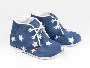 Stars Leather Shoes