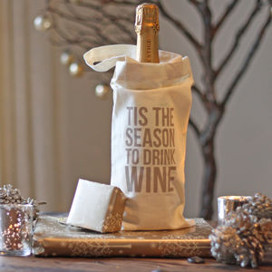 Christmas Wine Bottle Gift Bag - view all sale items