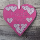 Girl's Personalised Door Plaque