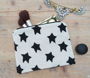 Star Cosmetic Bag - gifts for teenagers