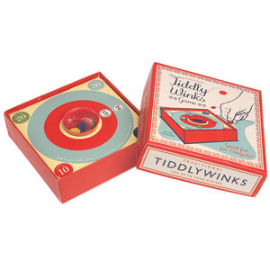 Traditional Tiddlywinks