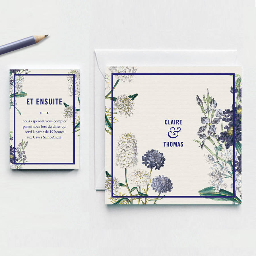 botanical garden wedding invitation by pepper & joy ...