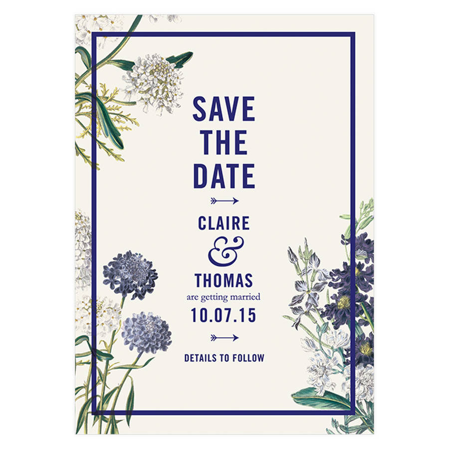 Botanical Weding Invitations 031 - Botanical Weding Invitations