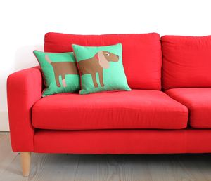 Sausage Dog Cushion - cushions