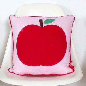 Apple Cushion - patterned cushions