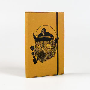 Cat Captain Notebook