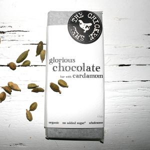 Organic Cardamom Chocolate - luxury chocolates