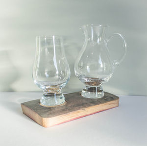 Glencairn Whisky Glass And Jug Holder