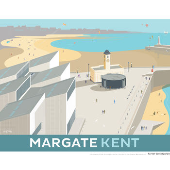 Turner Contemporary Margate Poster