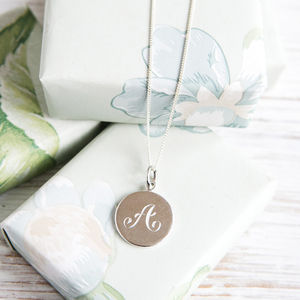 Initial Necklace - 21st birthday gifts