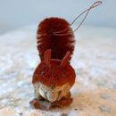 Brush Hanging Squirrel Decoration