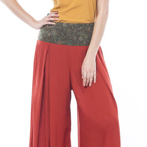 High Waist Palazzo Trousers - women's fashion