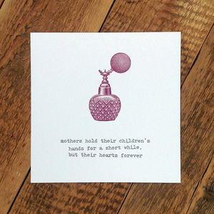 Card For Mums; 'Hold Their Hearts Forever' - shop by category
