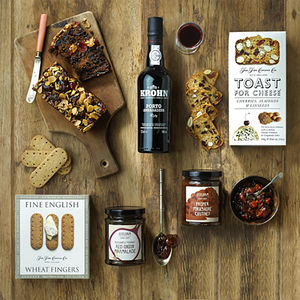 Everything But The Cheese Hamper - boxes & hampers