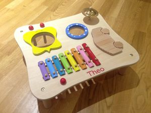 Music Maker Table - top traditional toys