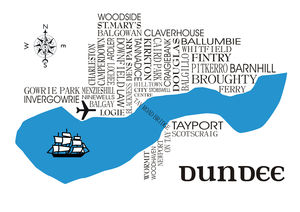 Dundee Word Map