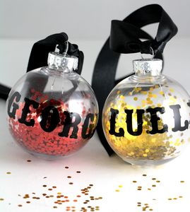Personalised Christmas Disco Bauble