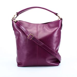 Leather Handbag Tote Messenger Bag