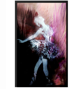 Feather Firework Ballerina - contemporary art