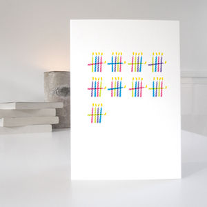 'Who's Counting?' 45th Birthday Card