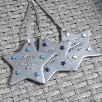 silver with aqua, royal blue &white