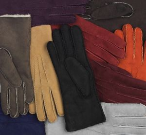 Fern. Women's Classic Sheepskin Gloves