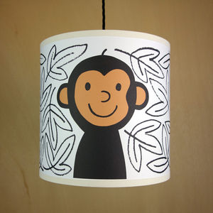 Monkey Lampshade - lighting