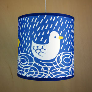 Ducks Lampshade - children's lighting