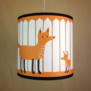 Fox Lampshade - children's lighting