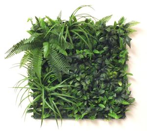 Artificial Forest Fern Green Wall Foliage - artificial outdoor plants