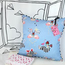 Flamingo Sundae Cushion