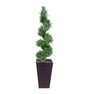 Artificial Grande Boxwood Spiral Topiary - outdoor decorations