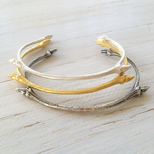 Lime Twig Bangle